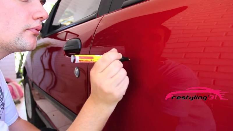 Удаление царапин на двери авто цена